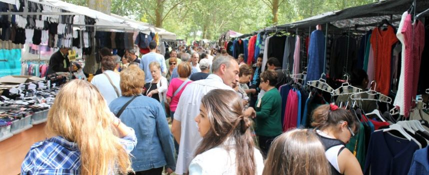 La chopera de El Henar acogerá más de 240 puestos el domingo coincidiendo con la Romería
