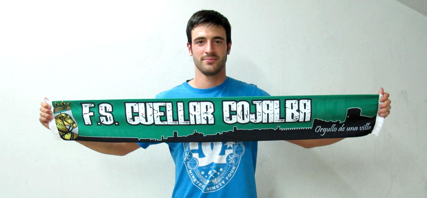 Pablo Lozano se incorpora al equipo FS Cuéllar Cojalba.