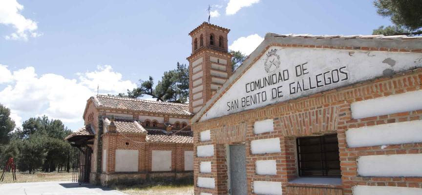 Ermita de San Benito de Gallegos.