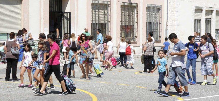 Vuelta a las aulas para 730 alumnos en los colegios de Cuéllar
