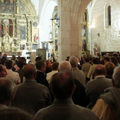 La lluvia obligó a aplazar hasta el miércoles la procesión con la virgen de Aldeasoña