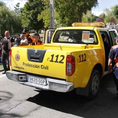 La Agencia de Protección Civil entrega material de intervención en emergencias a los voluntarios de Cuéllar y Carbonero
