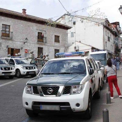 La Guardia Civil busca a un detenido que huyó cuando era conducido al juzgado de Cuéllar
