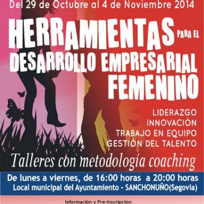 Ismur impartirá en Sanchonuño un curso de herramientas para el desarrollo empresarial femenino