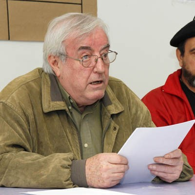 La figura de Albert Camus centró la conferencia de José Luis G. Coronado en el Centro Solidario