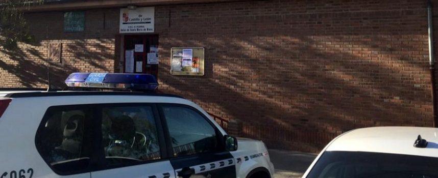 Detenidos en Coca cuatro jóvenes como presuntos autores de nueve robos en colegios públicos en la provincia registrados este mes