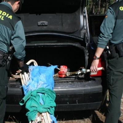 La Guardia Civil detiene a un hombre y una mujer por el robo de material de fontanería en una nave de Fuentepelayo