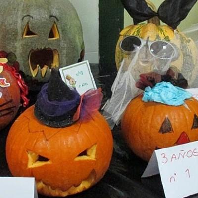 Concurso de Halloween de decoración de calabazas en el colegio San Gil