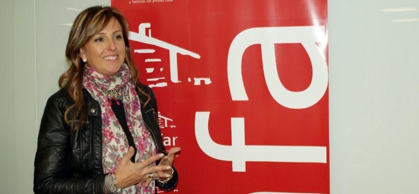 Nuria Alonso, Presidenta de AMFAR Segovia.
