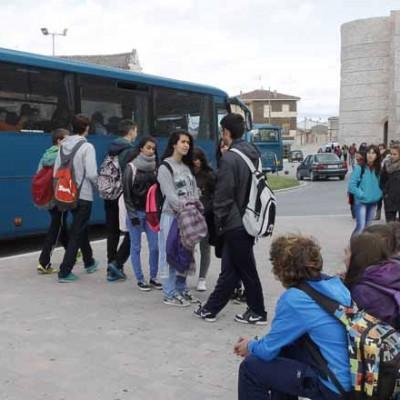 La Junta une transporte regular de viajeros y escolar en algunas líneas de la comarca para optimizar recursos