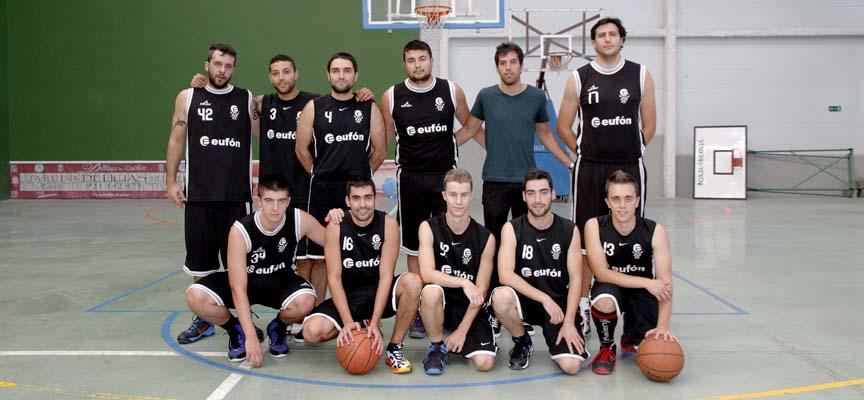 Equipo del Eufón Baloncesto Cuéllar A para la temporada 2014-15.