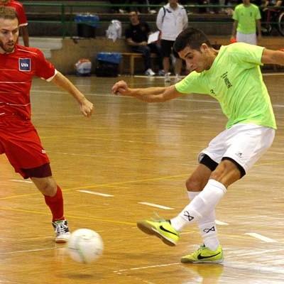 El FS Naturpellet Cuéllar cayó por la mínima en la cancha del líder y pierde el tren de la liga