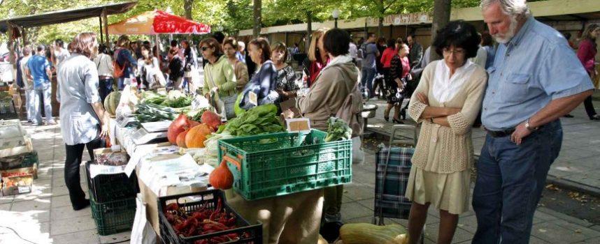 Los Paseos de San Francisco acogerán el domingo el IV Mercado Ecológico