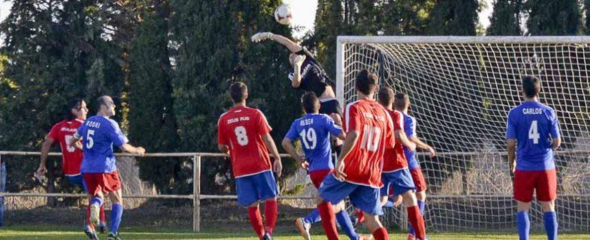 El Cuéllar cae con estrépito ante el Raudense (4-0)