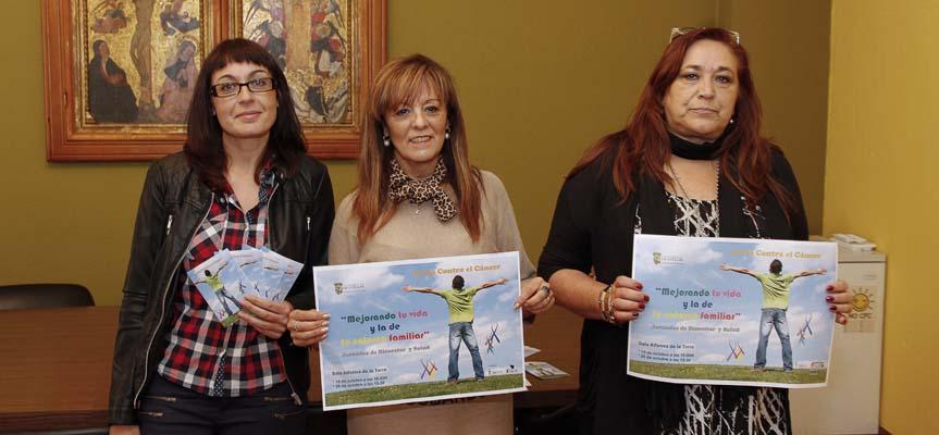"""Arancha Sanz, Montserrat Rodrigo y Rosa Arias presentan las jornadas de bienestar y salud """"Contra el cáncer: mejorando tu vida"""""""