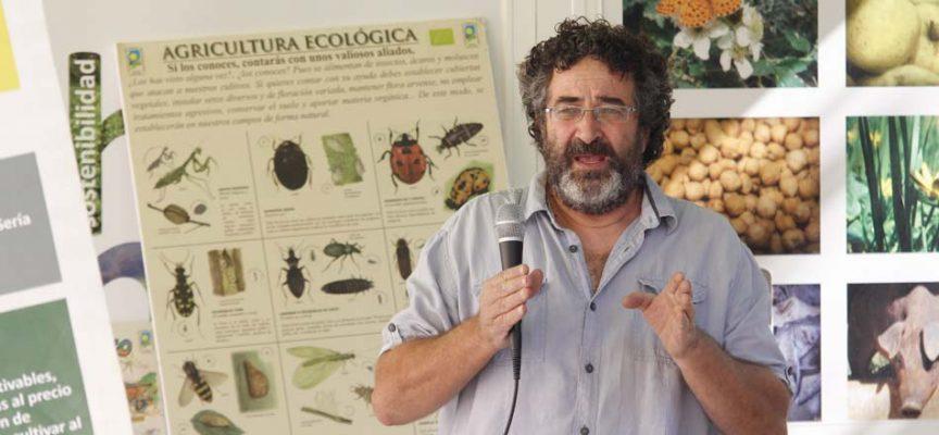 Juan Senovilla, candidato de UCCL para continuar presidiendo el Consejo de Agricultura Ecológica de Castilla y León
