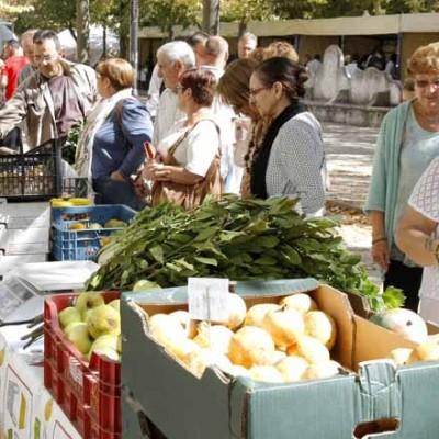 Los Paseos de San Francisco acogerán el domingo el V Mercado de Productos Ecológicos