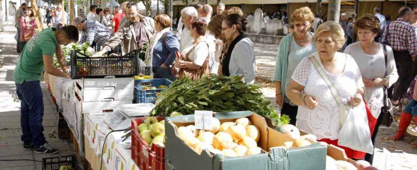 Los productos ecológicos toman los Paseos de San Francisco en el IV Mercado Ecológico