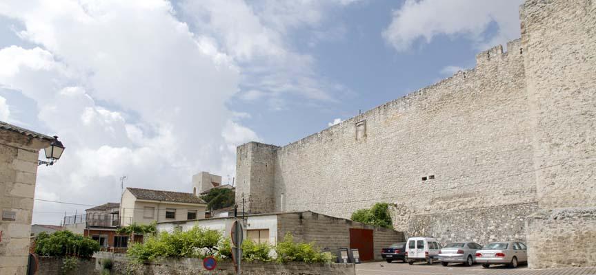 Tramo de San Martín de la muralla de Cuéllar.