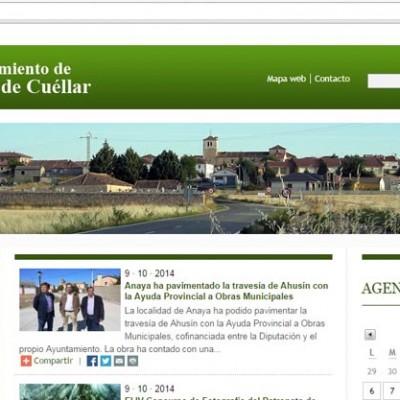 Lastras de Cuéllar ya cuenta con página web