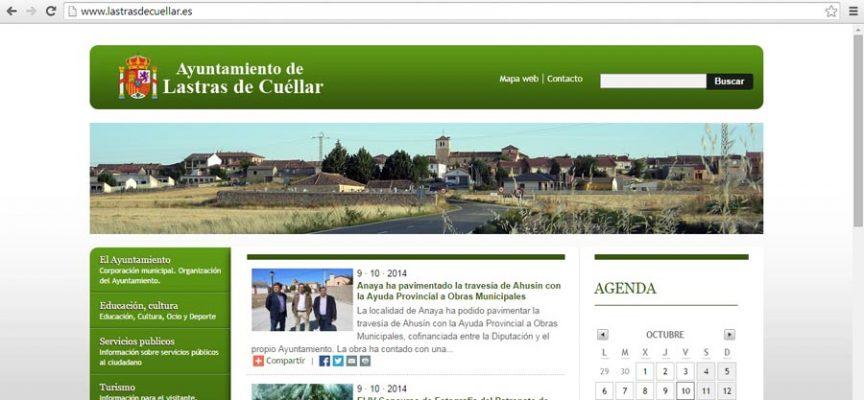 pagina web Lastras de Cuellar