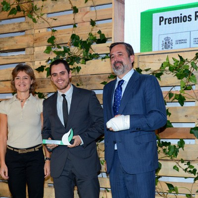 """""""La Pina"""" recibe el accésit Protección de la Biodiversidad de los premios """"Red emprendeverde"""""""