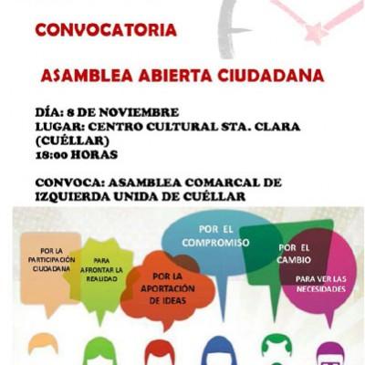 IU comienza a preparar las municipales con una Asamblea Abierta Ciudadana