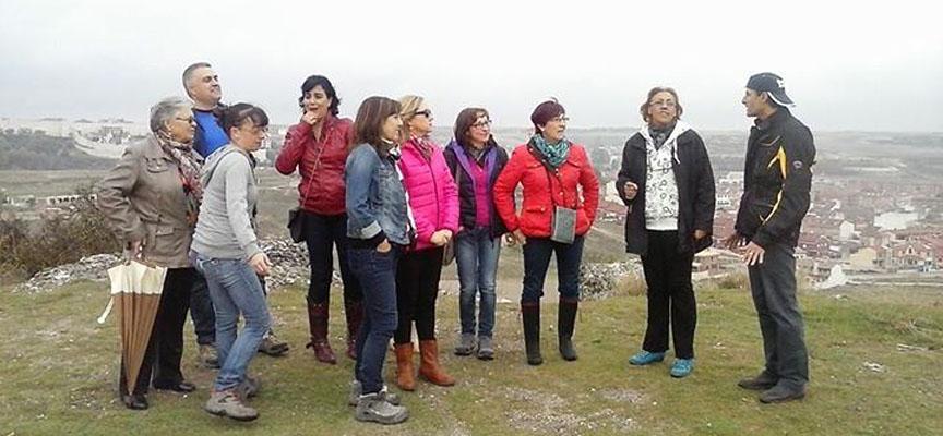 Miembros del grupo durante la grabación del video.