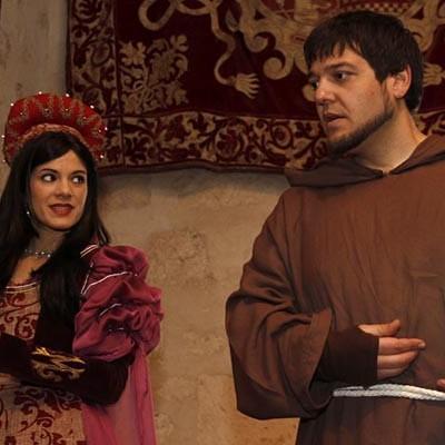 """""""El blandir de la Historia"""", nuevo espectáculo teatralizado del Castillo a partir de febrero"""