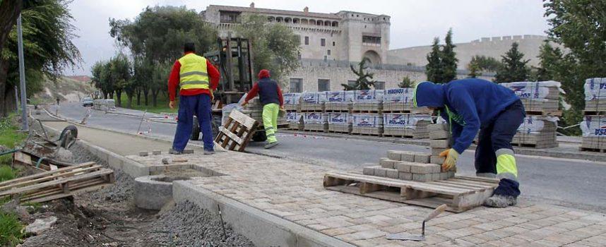 El Ayuntamiento continuará la reparación de aceras por la zona norte del municipio