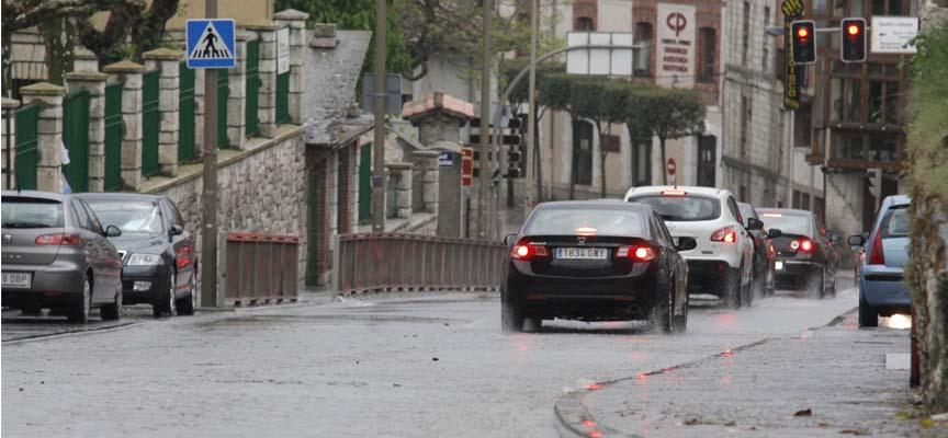 El pronóstico indica que la lluvia nos acompañarán los próximos días.