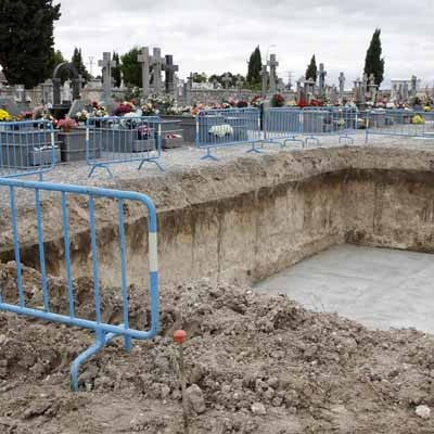 Comienzan los trabajos de ampliación del cementerio de Cuéllar