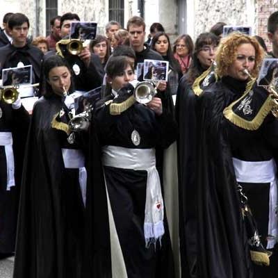 La Banda de Cornetas y Tambores de  la Cofradía de La Soledad celebra su X Aniversario con una Masterclass de Corneta
