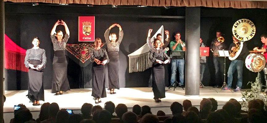 Sueño Flamenco durante su actuación en el Festival.