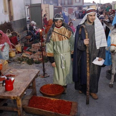 Unas 70 personas harán realidad el domingo el XVIII Belén Viviente de Zarzuela del Pinar