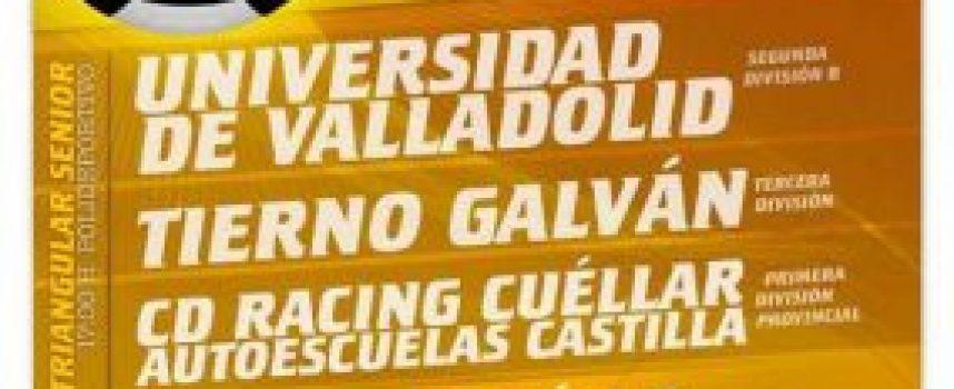 El CD Racing Cuéllar organiza mañana un torneo benéfico de fútbol sala