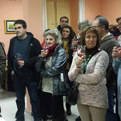 Cata Solidaria en Navas de Oro con vinos de la bodega Severino Vegas