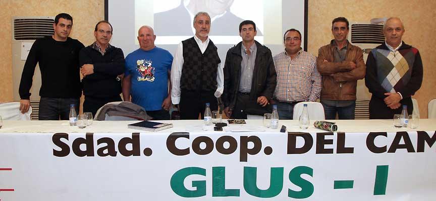 El nuevo Consejo Rector de Glus-I elegido en la Asamblea Ordinaria.