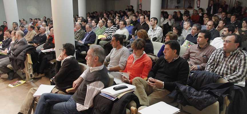 El primer Congreso de Horticultura al aire libre llenó la sala Alfonsa de la Torre.