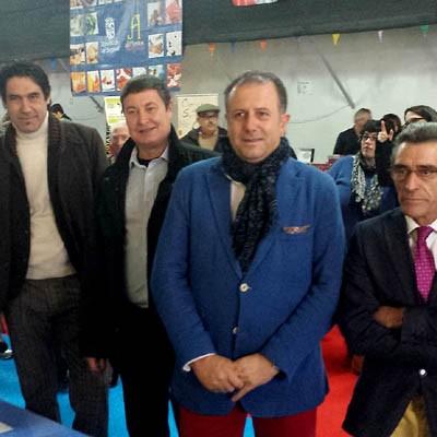 Una treintena de expositores se dan cita en la I Feria Agroalimentaria de Sacramenia