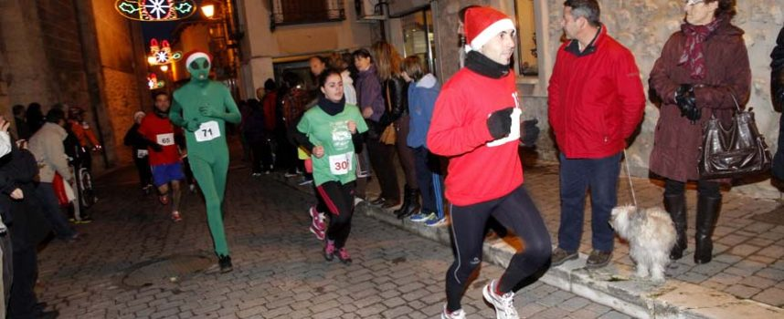 Las carreras populares centran las últimas actividades deportivas del año en la comarca el día de San Silvestre