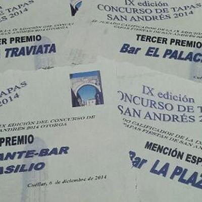 El café bar La Traviata ganador del certamen de tapas del barrio de San Andrés