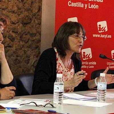 Montserrat Sanz, Miguel Ángel Gómez y Alberto Castaño primeros candidatos a las primarias de IU en Cuéllar