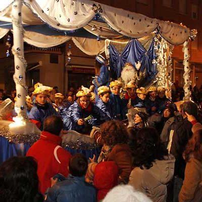 Los Reyes Magos recorrerán hoy la comarca