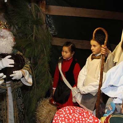 La magia de los Reyes Magos llegó a las calles de Cuéllar