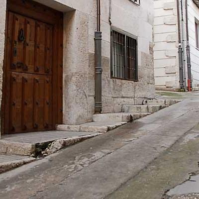 Comienzan las obras de acondicionamiento de la calle Morería