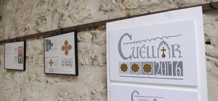Exposición del concurso de ideas para el logotipo de las Edades del Hombre en Cuéllar