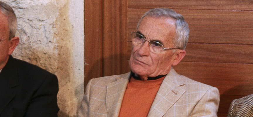 Luis Zarzuela, en una imagen tomada en el año 2008.