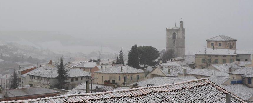 La Aemet mantiene la alerta por nieve en la zona hasta mañana a las 00.00 horas