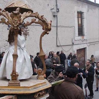 El Niño de la Bola, protagonista del Día de Reyes en Cuéllar